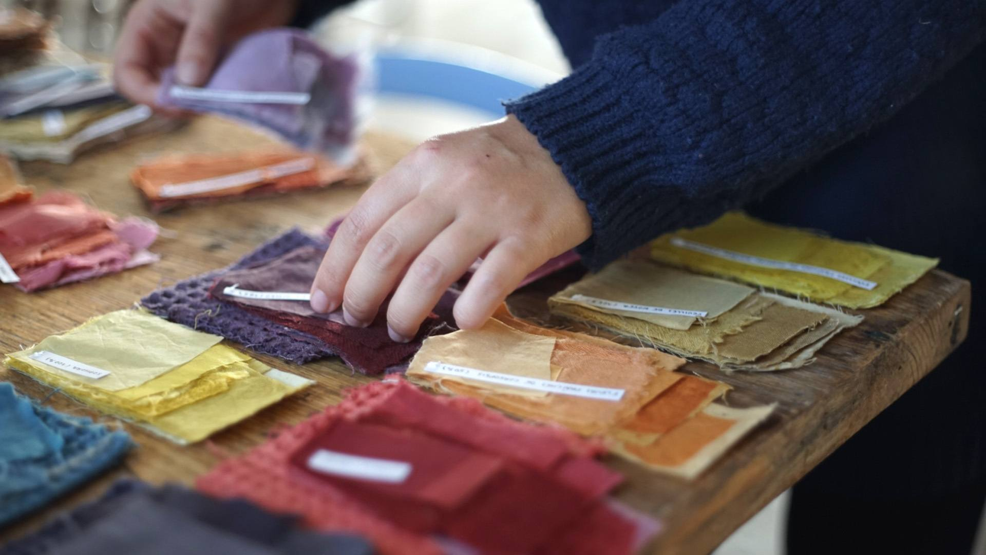 Un « Bouillons » de créativité : Chutes et rebuts pour les créations textiles