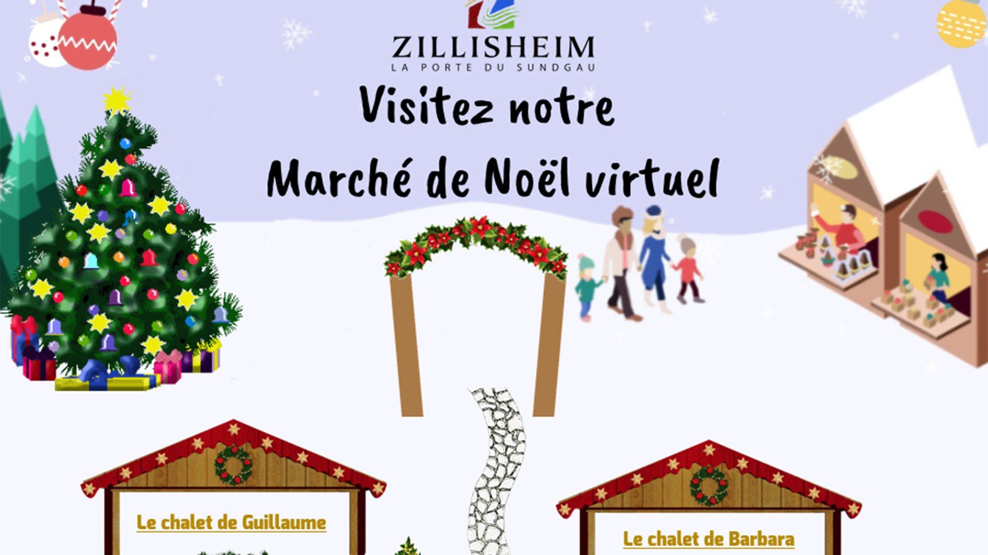 Zillisheim cliquez sur le chalet : 12 chalets et autant d'artisans à découvrir
