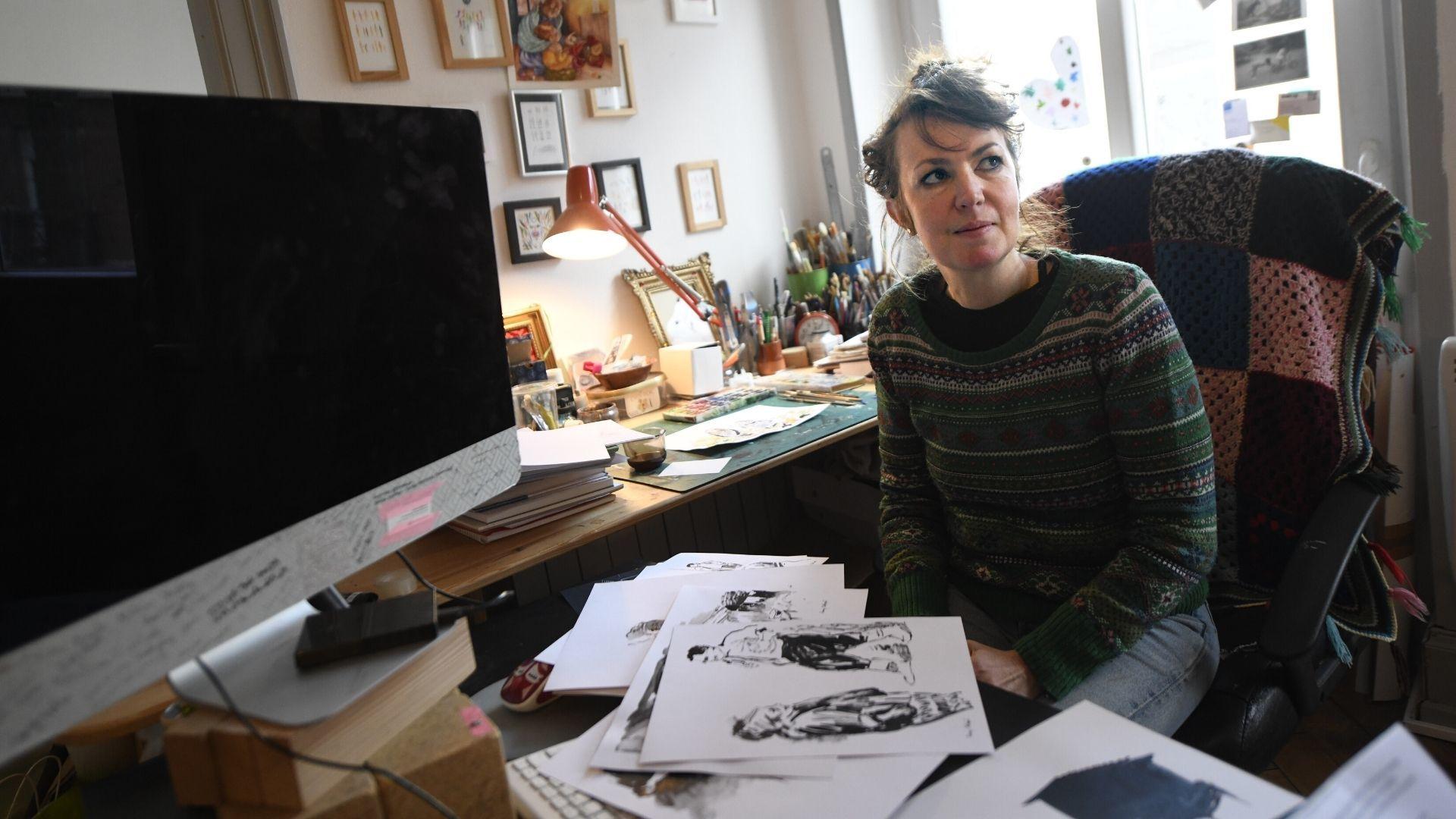 Fanny Delqué croque les Vagamondes : Fanny Delqué graphiste illustratrice