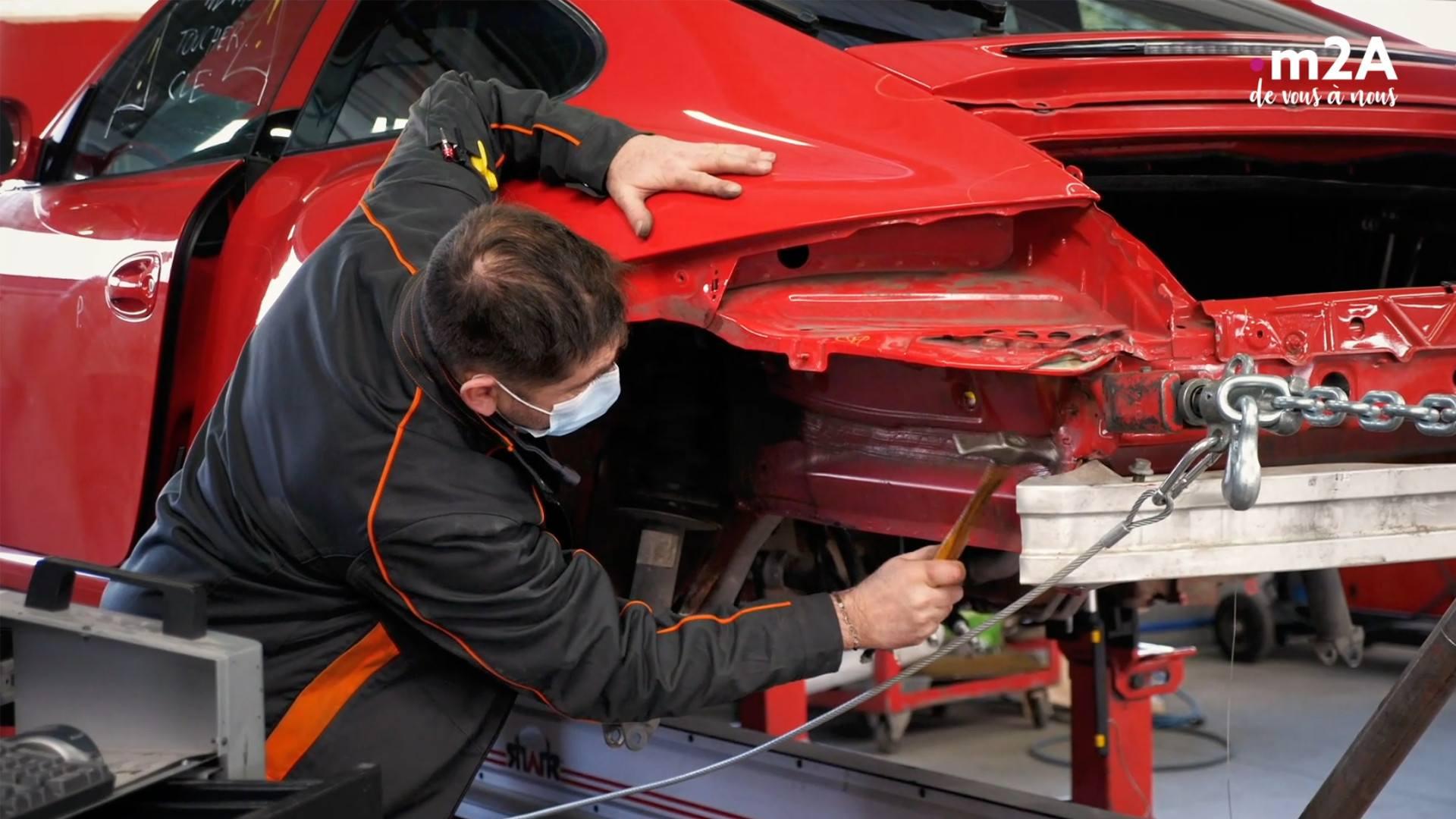 Carrosserie Fox, la thalasso automobile à Kingersheim | Mulhouse Alsace Agglomération – m2A