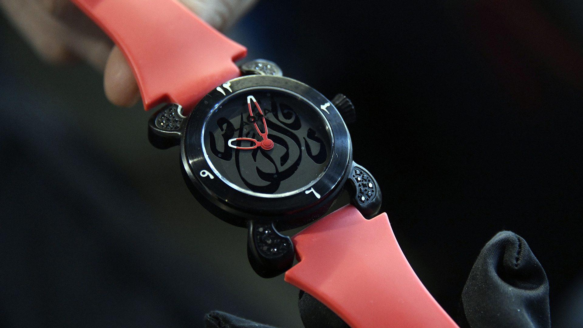 Fouad Zrhari : un horloger à Illzach : des montres pour tous les poignets
