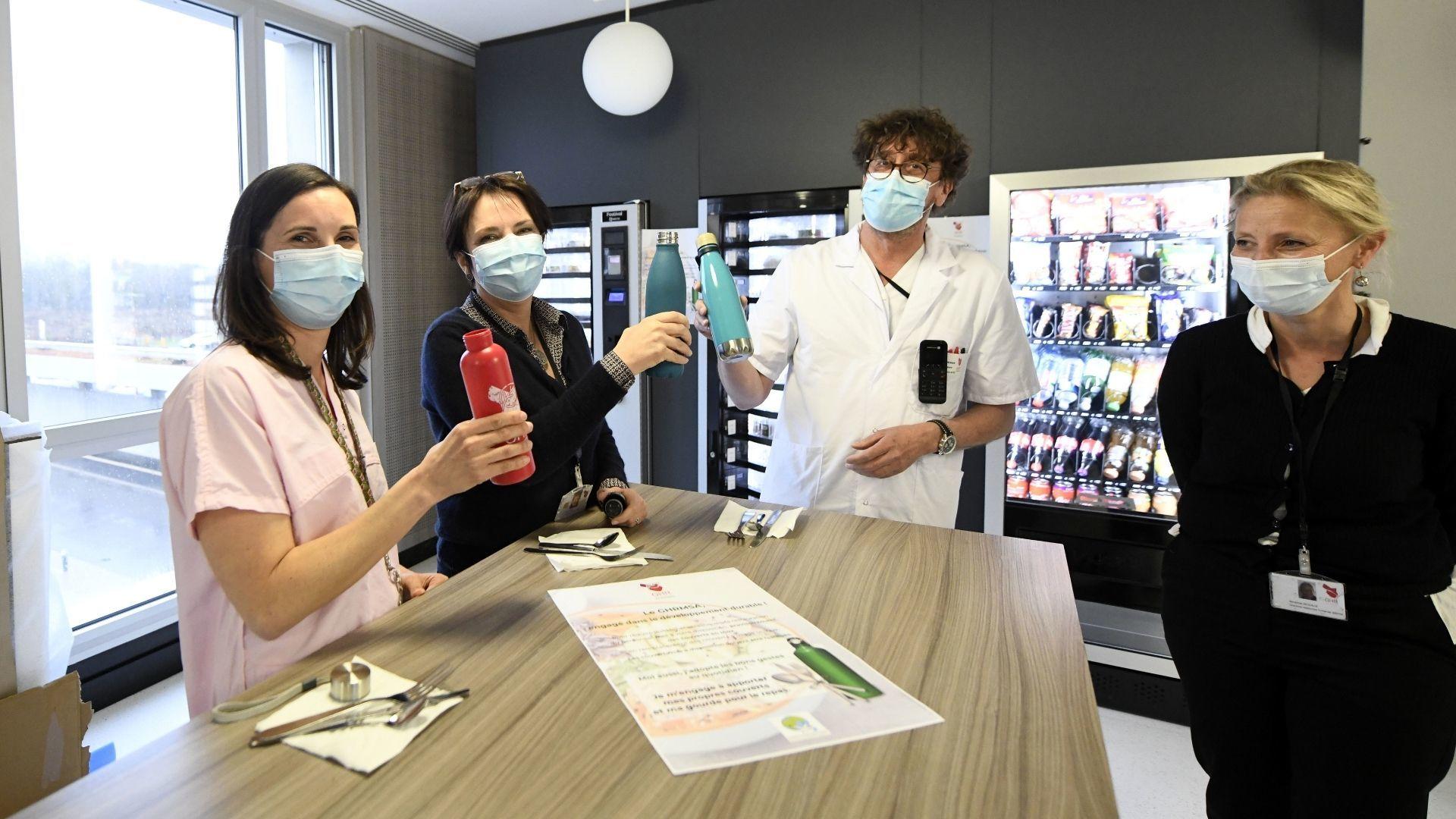 Mulhouse le pôle Magyc passe au vert : Les pratiques changent à la cafétéria