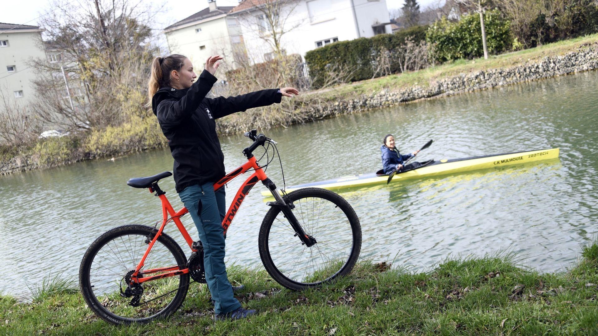 Riedisheim du handikayak au club de canoë kayak : plus d'autonomie sur l'eau et dans la vie