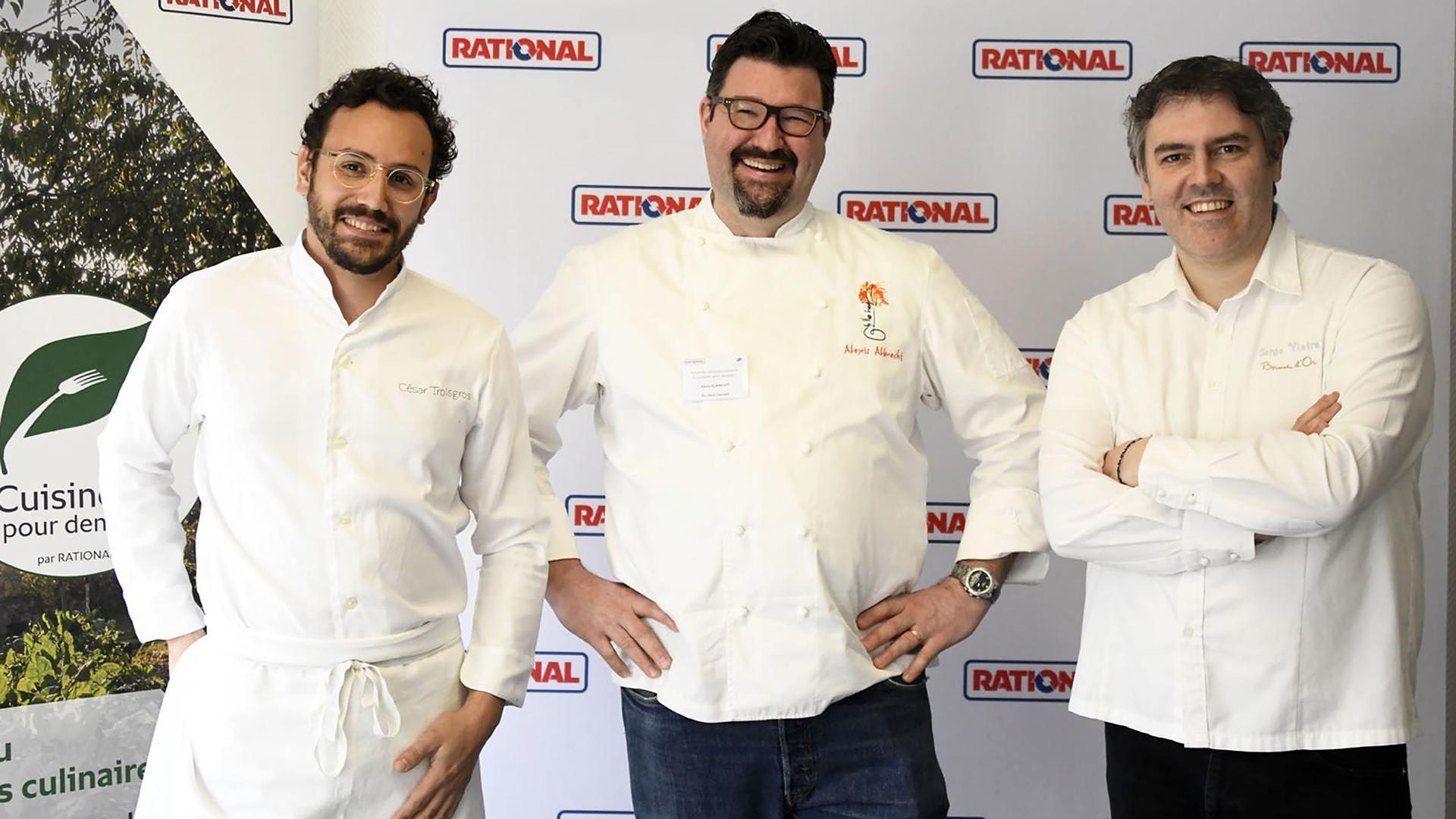 Toques et jeunes pousses dans la cuisine du futur : Les 3 chefs du jury