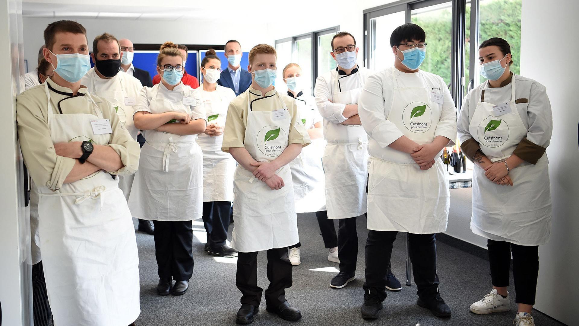 Toques et jeunes pousses dans la cuisine du futur : Les candidats réunis pour le palmarès