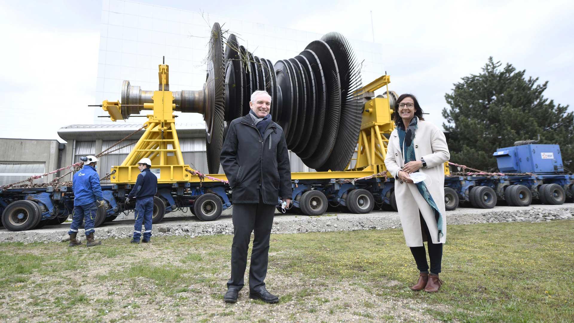 Electropolis un colosse au musée, Claude Welty et Elvire Charre