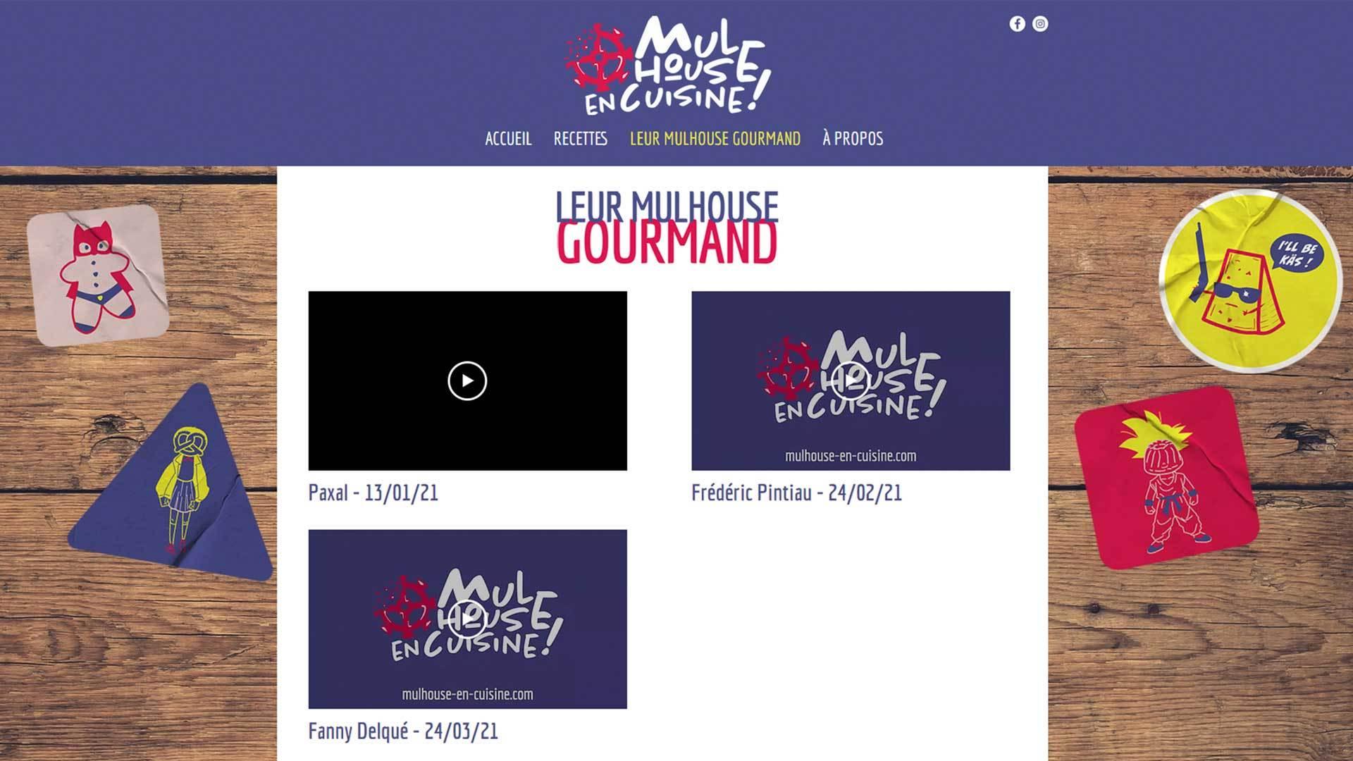Maxime Boffy fondateur du blog Mulhouse en cuisine, à la rencontre de ceux qui font vivre la ville