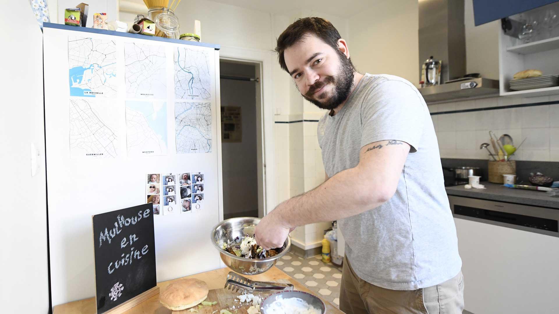 Maxime Boffy fondateur du blog Mulhouse en cuisine, aime partager sa passion pour la cuisine