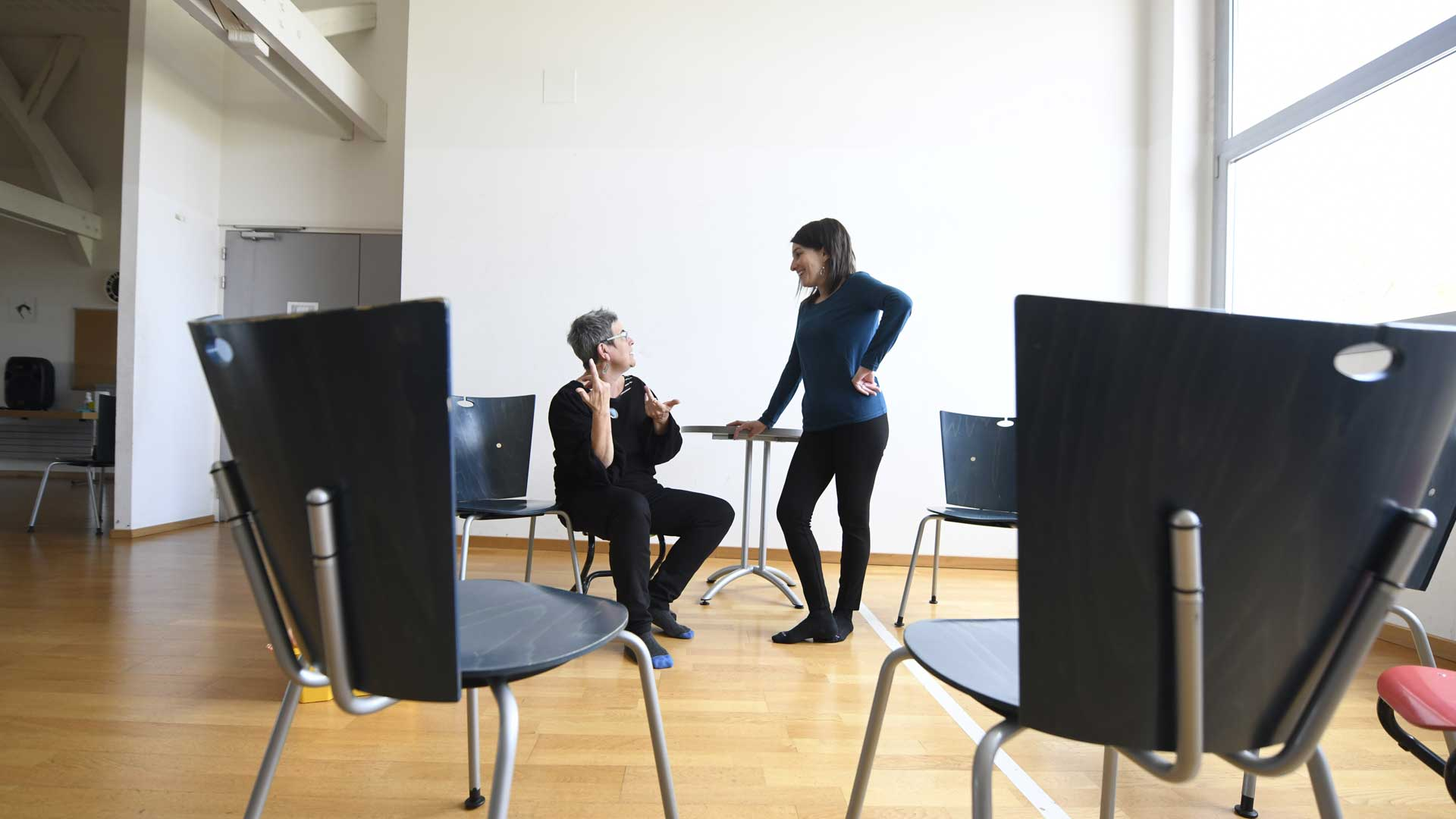 STAFFELFELDEN Association Maman Blues Joanne Breitner et Michèle Lision
