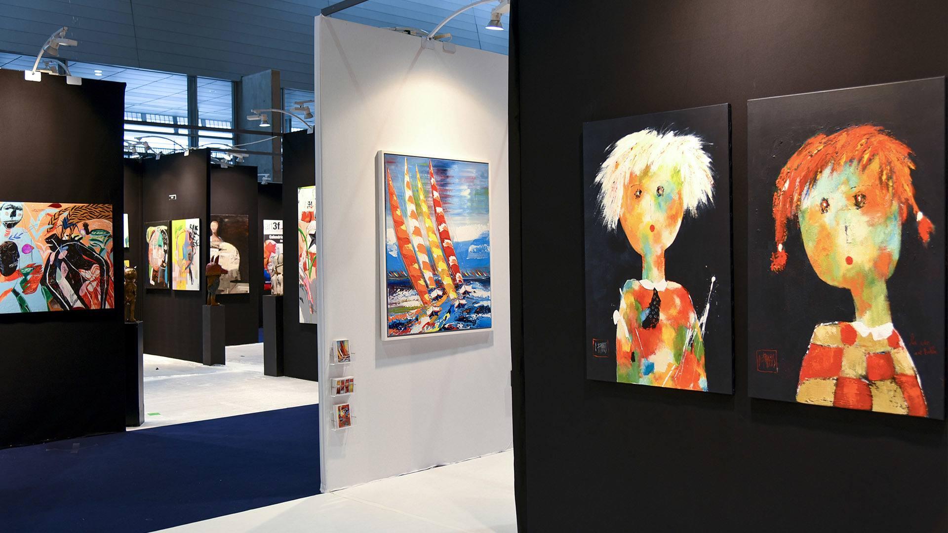 rt3f un salon international pour célébrer l'art contemporain : découvrir des artistes du monde entier