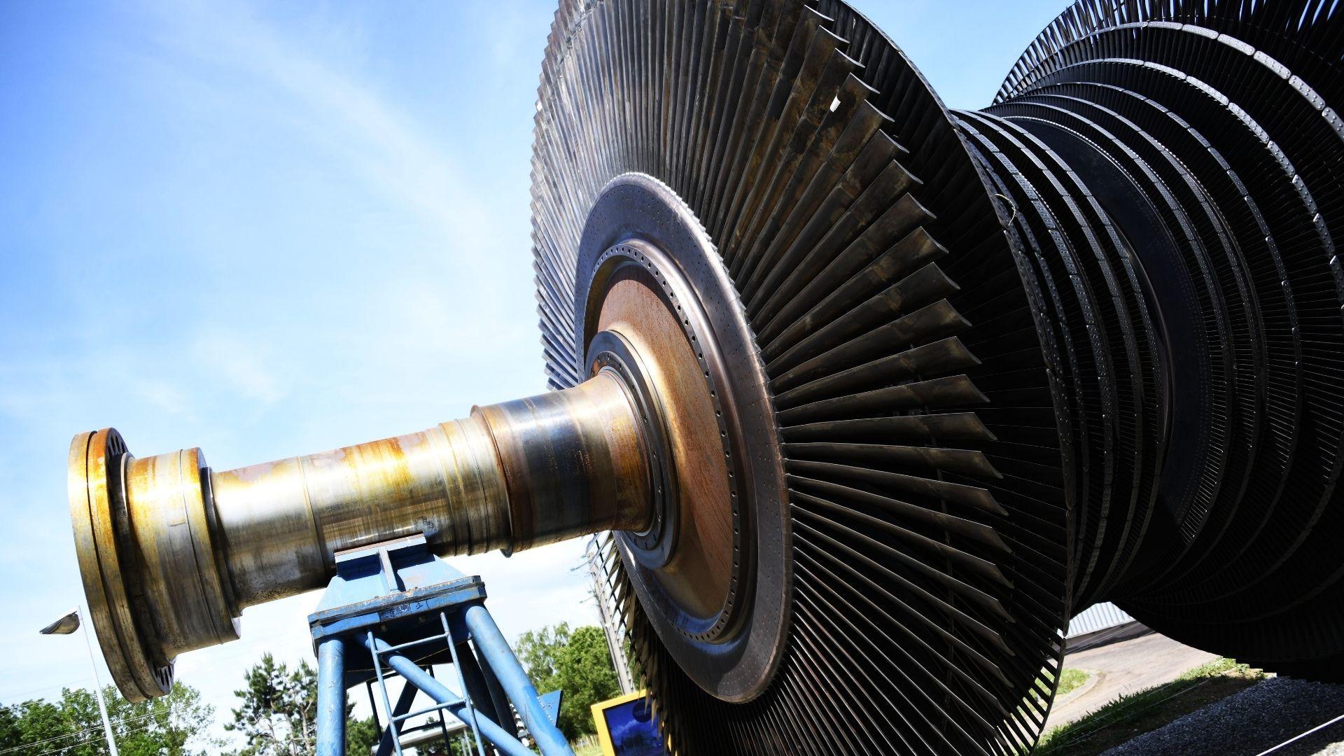 Du nouveau au musée Electropolis : le rotor géant de l'ancienne centrale nucléaire de Fessenheim