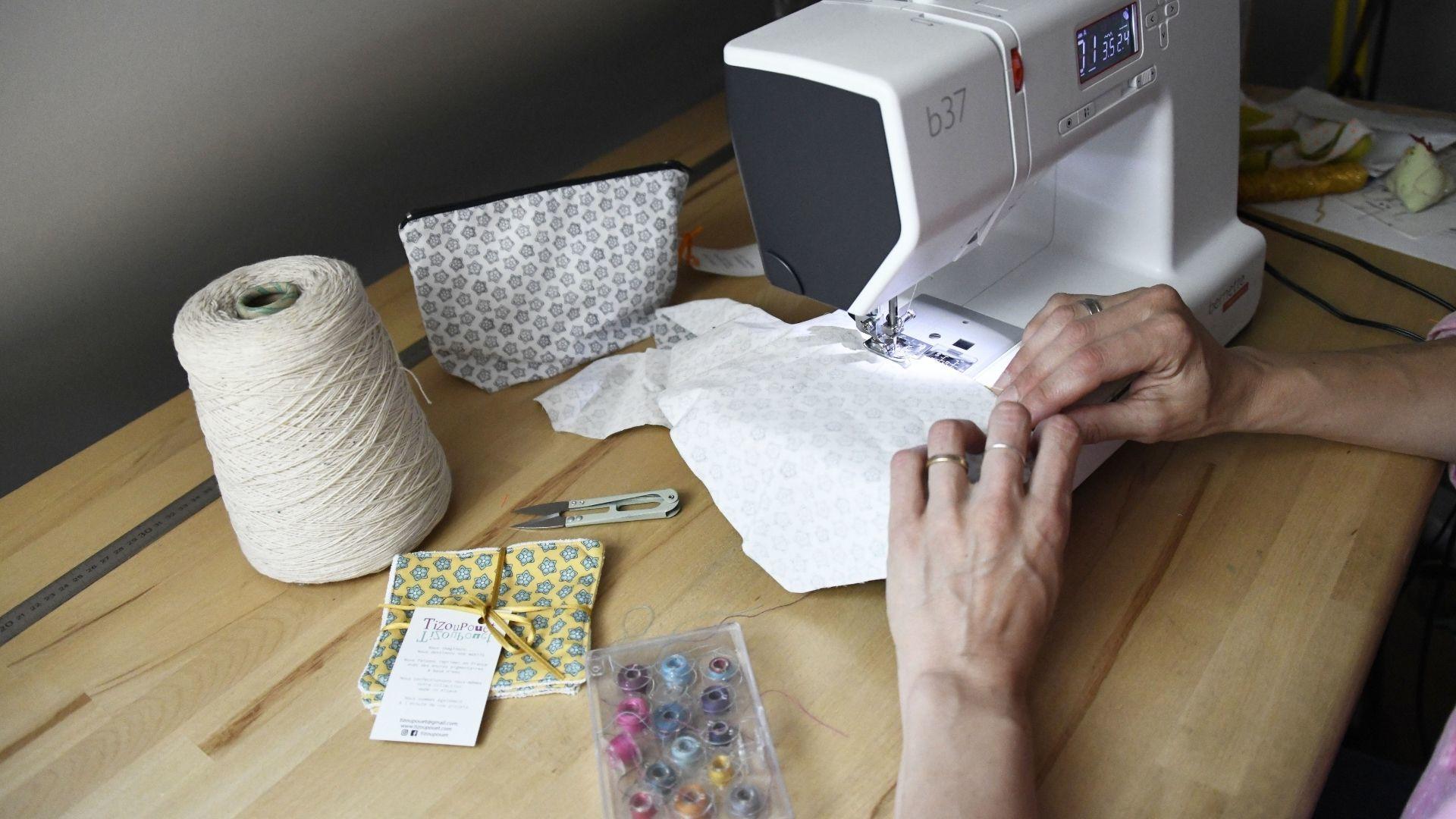 Tizoupouet accessoire de puériculture fait main dans l'agglo : Les produits sont confectionnés à la main