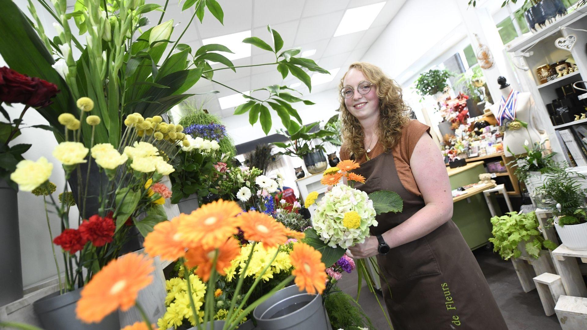 Perrine Hinderer et les fleurs, une histoire partie pour durer
