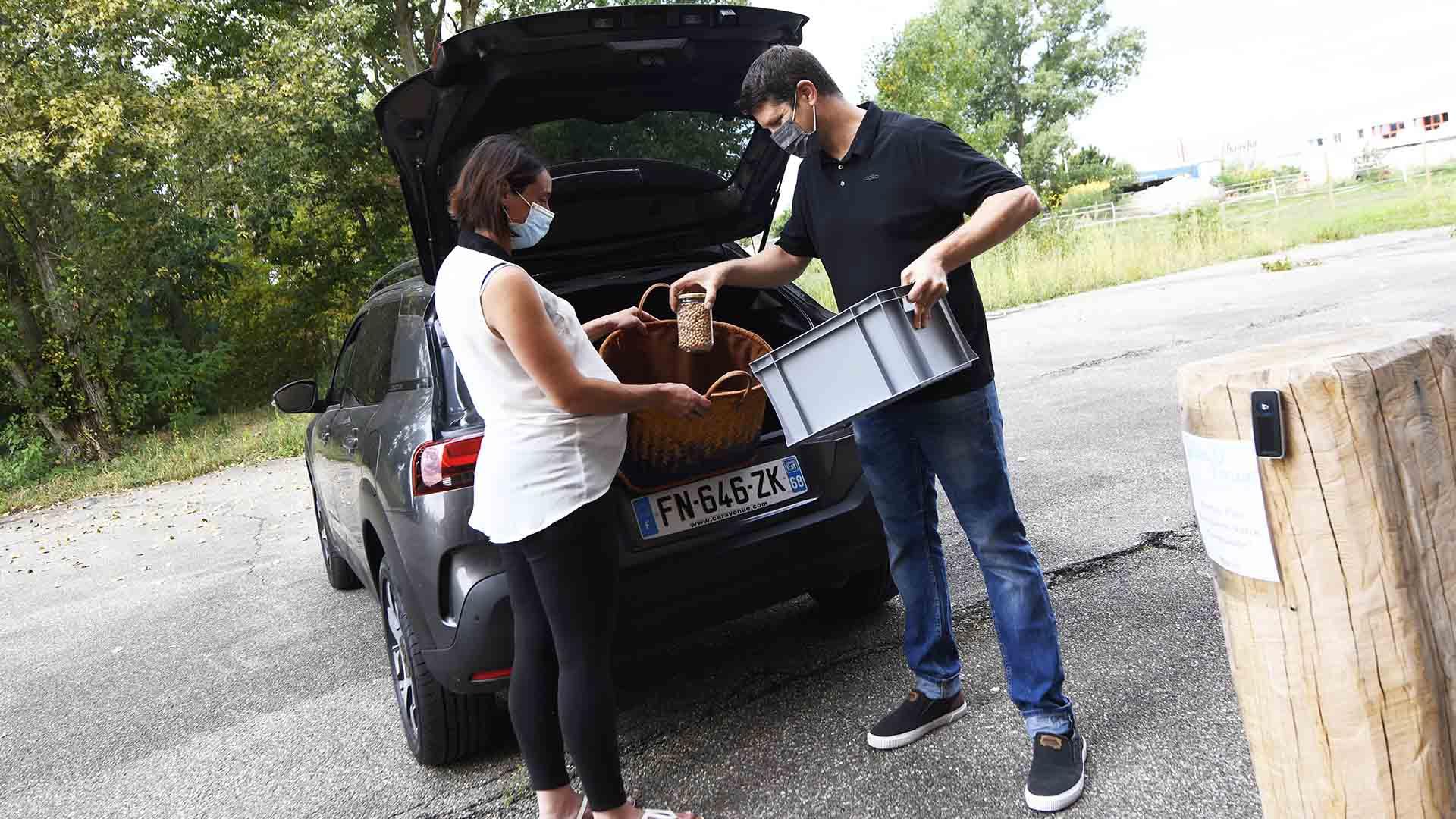 Boc'O Drive u ndrive bio et local et zero déchet à Rixheim - Jérôme est présent pour tous ses clients