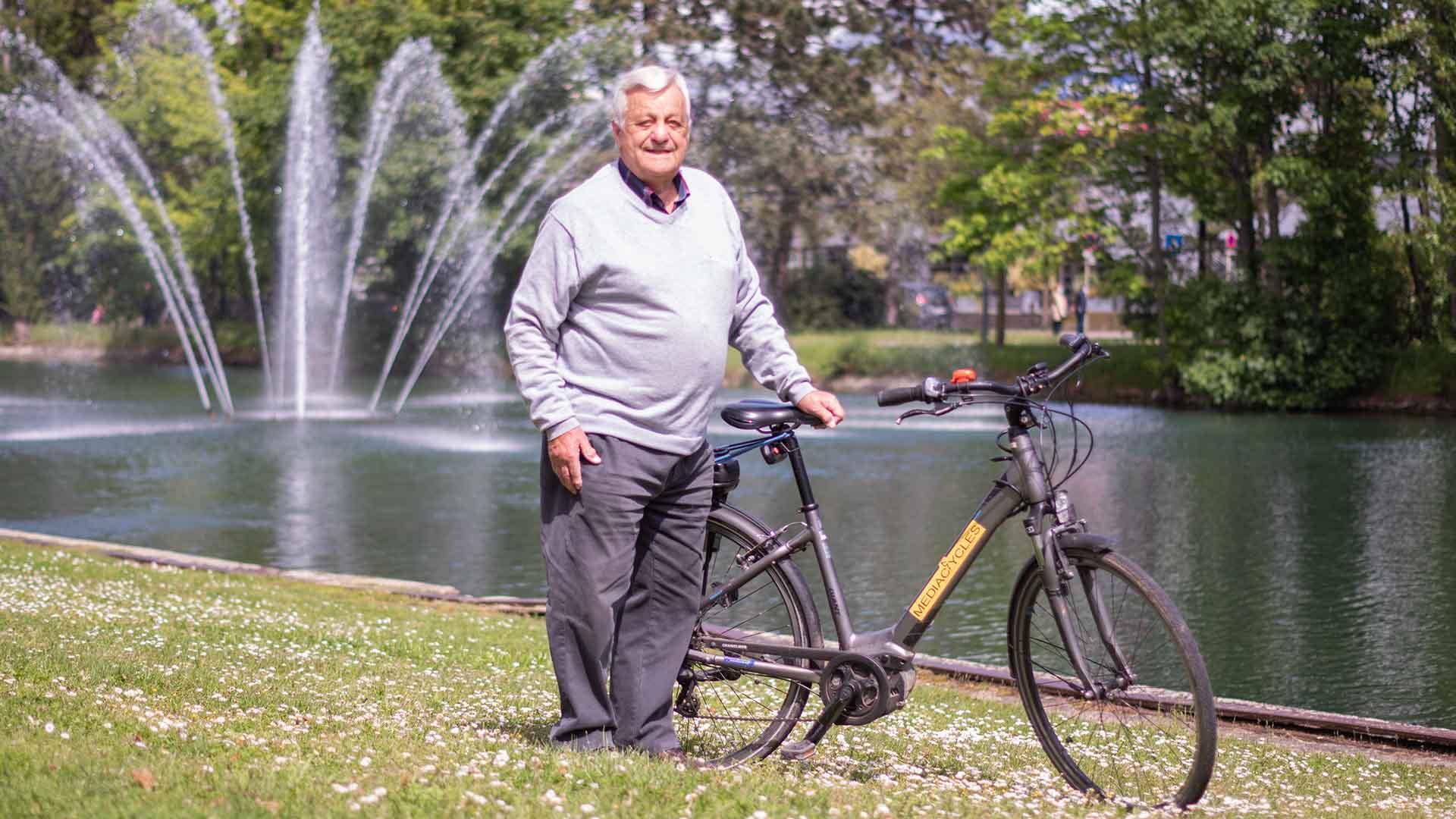 Les Greeters de Mulhouse fêtent leurs 10 ans : Les balades à vélo avec Pépi